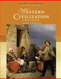 Western Civilization : A Brief History: Since 1500, Spielvogel, Jackson J., 0495099759