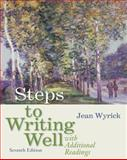 Steps to Writing Well with Additional Readings (with 2009 MLA Update Card), Wyrick, Jean, 0495899763