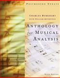 Anthology for Musical Analysis, Burkhart, Charles and Rothstein, William, 0495189766