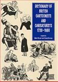 Dictionary of British Cartoonists and Caricaturists, Bryant, Mark and Heneage, Simon, 0859679764