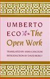The Open Work, Umberto Eco, 0674639766