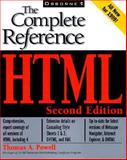 HTML : The Complete Reference, Powell, Thomas A., 0072119772
