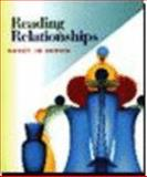 Reading Relationships, Brown, Nancy Jo, 0395889774