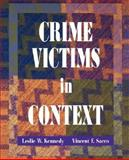 Crime Victims in Context, Kennedy, Leslie W. and Sacco, Vincent F., 0195329775