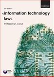 Information Technology Law, Lloyd, Ian J., 0199299773