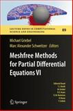 Meshfree Methods for Partial Differential Equations VI, Griebel, Michael and Schweitzer, Marc Alexander, 3642329780