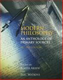 Modern Philosophy : An Anthology of Primary Sources, Ariew, Roger, 0872209784