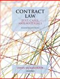 Contract Law: Text, Cases, and Materials, McKendrick, Ewan, 0199579792