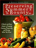Preserving Summer's Bounty 9780875969794