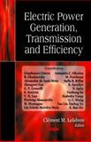 Electric Power : Generation, Transmission and Efficiency, Lefebvre, Clément M., 1600219799