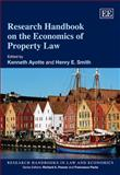 Research Handbook on the Economics of Property Law, Richard G. Smith, 1847209793
