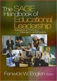 The SAGE Handbook of Educational Leadership : Advances in Theory, Research, and Practice, English, Fenwick W., 0761929797