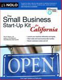 The Small Business Start-Up Kit for California, J.D., Peri Pakroo, 1413319793