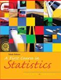 A First Course in Statistics, McClave and Mendenhall, William, 0131499793