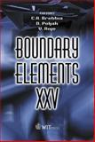 Boundary Elements XXV, C. A. Brebbia, 1853129801