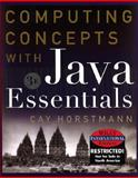 Computing Concepts with Java Essentials, Horstmann, Cay S., 0471379808