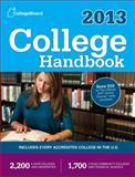 College Handbook 2013, College Board Staff, 0874479800