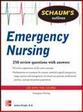Schaum's Outline of Emergency Nursing, Keogh, James, 0071789804