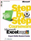 Microsoft Excel 2000 Step by Step Courseware Expert Skills Class Pack, ActiveEducation Staff, 0735609802