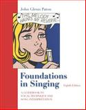 Foundations in Singing, Christy, Van A. and Paton, John Glenn, 0072989807