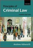 Principles of Criminal Law, Ashworth, Andrew, 0199259801