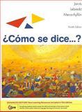 Como se dice... ?, Enhanced Edition, Jarvis, Ana and Lebredo, Raquel, 0495909815