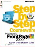 Microsoft FrontPage 2000 Step by Step Courseware Expert Skills Class Pack, ActiveEducation Staff, 0735609810