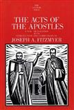 The Acts of the Apostles, Joseph A. Fitzmyer, 0300139829