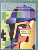 The Psychologist as Detective : An Introduction to Conducting Research in Psychology, Smith, Randolph A. and Davis, Stephen F., 0130219827