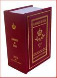 Almanach de Gotha 2013 : Volume I Parts I and II, , 0957519826