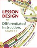 Lesson Design for Differentiated Instruction, Grades 4-9, Glass, Katherine Tuchman, 1412959829
