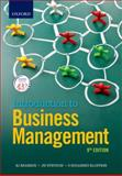 Introduction to Business Management, S Rudansky-Kloppers, B Erasmus, J Strydom, JA Badenhorst-Weiss, T Brevis-Landsberg, MC Cant, LP Kruger, R Machado, J Marx, 0199059829