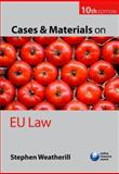 Cases and Materials on EU Law, Weatherill, Stephen, 0199639833