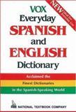 Vox Everyday Spanish and English Dictionary, Passport Books Staff, 0844279838