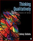 Thinking Qualitatively : Methods of Mind, Saldana, Johnny M., 1483349837