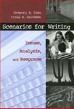 Scenarios for Writing : Issues, Analysis, and Response, Glau, Gregory R. and Jacobsen, Craig, 1559349832
