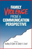 Family Violence from a Communication Perspective, , 0803959834