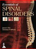 Essentials of Spinal Disorders, Eck, Jason C. and DiPaola, Christian P., 9350909839