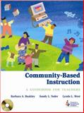 Community-Based Instruction : A Guidebook for Teachers, Beakley, Barbara A. and Yoder, Sandra L., 0865869839