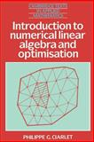 Introduction to Numerical Linear Algebra and Optimisation 9780521339841
