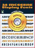 24 Moderne Display Fonts, Dover Staff, 048699984X