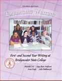 Embracing Writing : First-Year Writing at Bridgewater State College, Cox, Michelle and Doyle, Anne, 0757569846