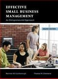 Effective Small Business Management, Scarborough, Norman M. and Zimmerer, Thomas W., 0131469843