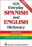 Vox Everyday Spanish and English Dictionary, Vox Staff, 0844279846