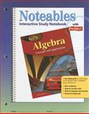 Algebra - Concepts and Applications : Interactive Study Notebook with Foldables, Zike, Dinah, 0078729858