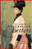 Oxford Book of Australian Letters, Thompson, John, 0195539850