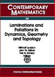 Laminations and Foliations in Dynamics, Geometry, and Topology, , 0821819852