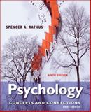 Cenage Advantage Books: Psychology : Concepts and Connections, Brief Version, Rathus, Spencer A., 1133049850