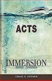 Immersion Bible Studies, Craig S. Keener, 1426709854