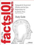 Studyguide for Government Efficiency and the Gpra Modernization Act by Percy Zamora, Isbn 9781619424272, Cram101 Textbook Reviews and Zamora, Percy, 1478429852